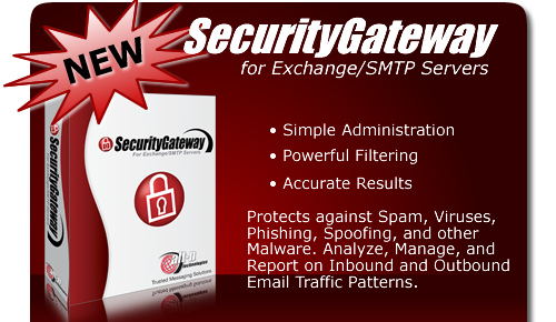 SecurityGateway for Exchange/SMTP 