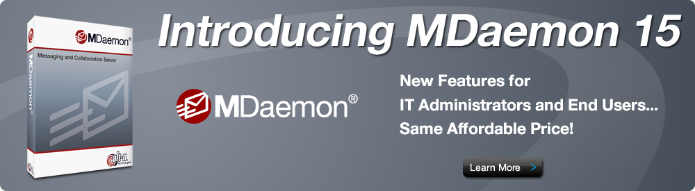 MDaemon 15 New Features