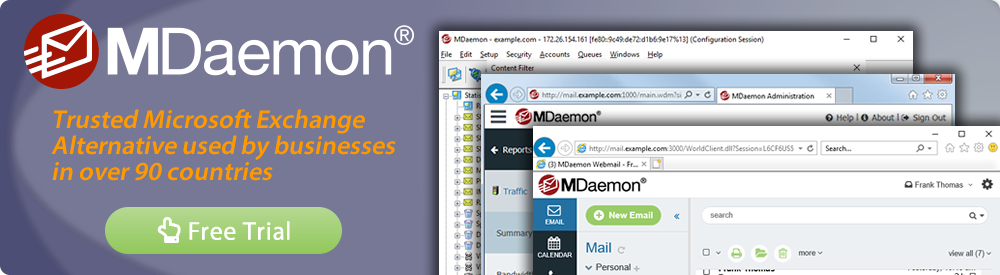 MDaemon 18 email server