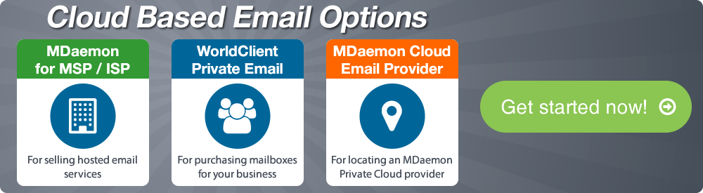 Cloud Email Options