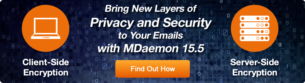 Email Encryption Options for MDaemon