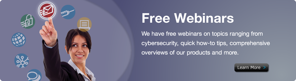 Free Webinars - MDaemon Mail Server and SecurityGateway for Mail Servers