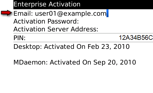 How To Enable Enterprise Activation on Blackberry