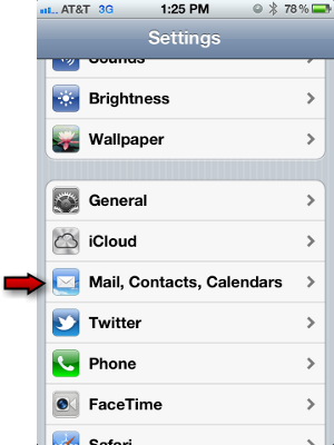 how to add gmail account to ipod touch