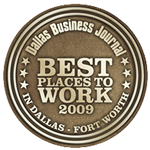Dallas Business Journal Best Places to Work Designation
